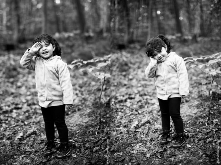 Seance photo famille en foret Rueil-Malmaison | Agnes Colombo, photographe famille Paris