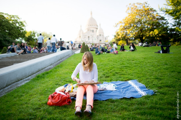 Seance Photo Engagement Montmartre | Agnes Colombo, photographe engagement Paris