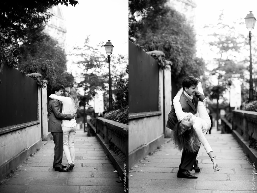 Seance Photo Engagement Montmartre | Agnes Colombo, photographe engagement Paris