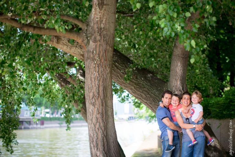 Seance Photo Famille La Roseraie Puteaux | Agnes Colombo, photographe enfant Paris