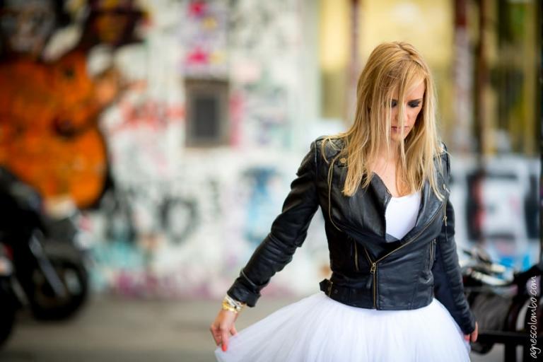 Trash the dress sous la pluie Paris | Agnes Colombo, photographe mariage Paris
