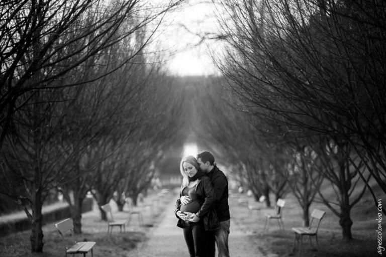 Seance photo femme enceinte Saint-Cloud | Agnes Colombo, photographe maternité Paris