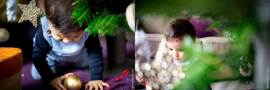 Seance photo enfant Noel Paris | Agnes Colombo, photographe famille Paris