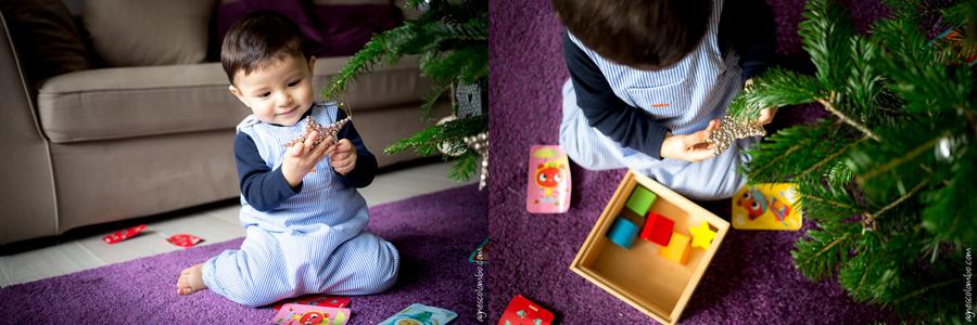 Seance photo enfant Noel Paris   Agnes Colombo, photographe famille Paris