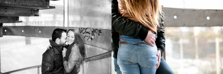 Photographe couple La Defense | Agnes Colombo, photographe couple Paris