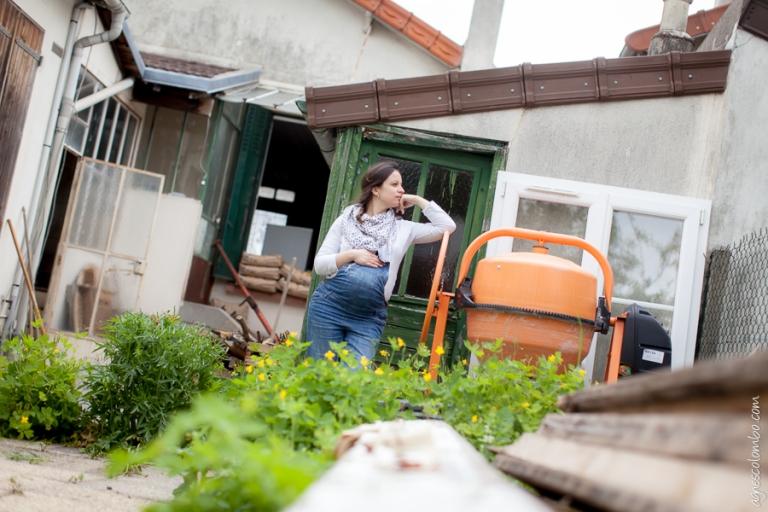 Photographe femme enceinte Nanterre | Agnes Colombo, photographe grossesse Paris
