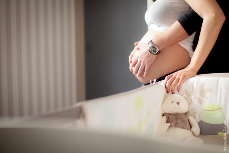 Photographe femme enceinte Saint-Cloud | Agnes Colombo, photographe grossesse Paris