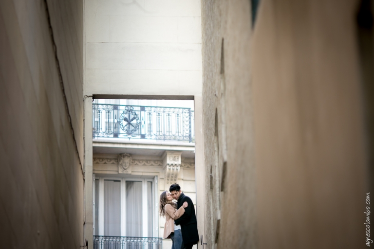 Seance engagement Paris | Agnes Colombo, photographe mariage Paris