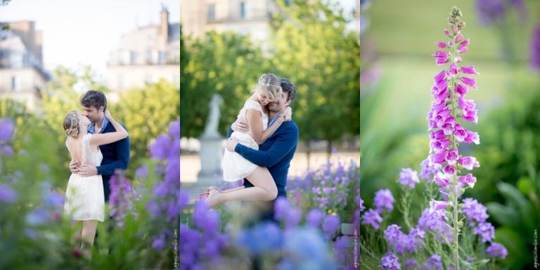 Seance engagement Louvre | Agnes Colombo, photographe couple Paris