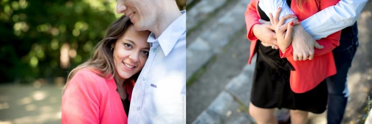 Seance engagement Arenes de Lutece | Agnes Colombo, photographe couple Paris