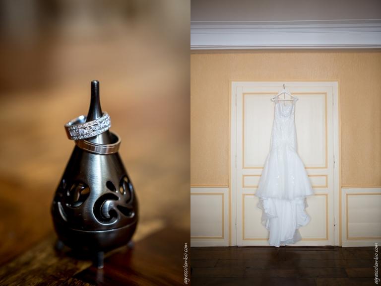Mariage Abbaye de Vaucelles | Agnes Colombo, photographe mariage Paris