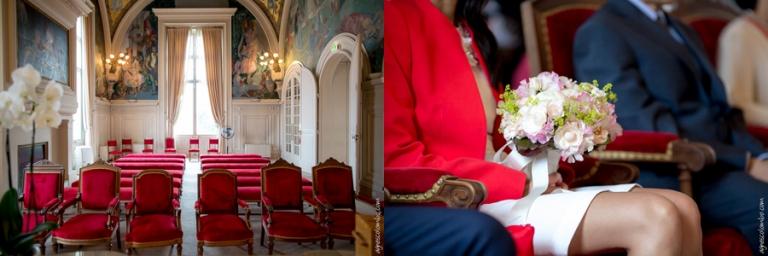 Mariage Maison de l'Amerique Latine | Agnes Colombo, photographe mariage Paris
