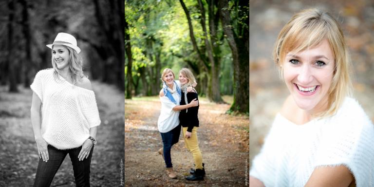 Seance fun pour deux amies Besançon | Agnes Colombo, photographe portrait Paris