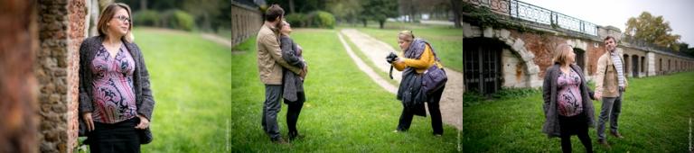 Formation photo grossesse Bagatelle | Agnes Colombo, photographe maternité Paris