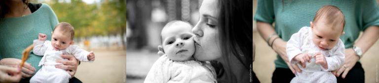 Photographe bebe Tuileries Paris | Agnes Colombo, photographe maternité Paris
