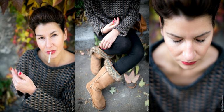 Portrait de femme Paris Passy | Agnes Colombo, photographe portrait Paris