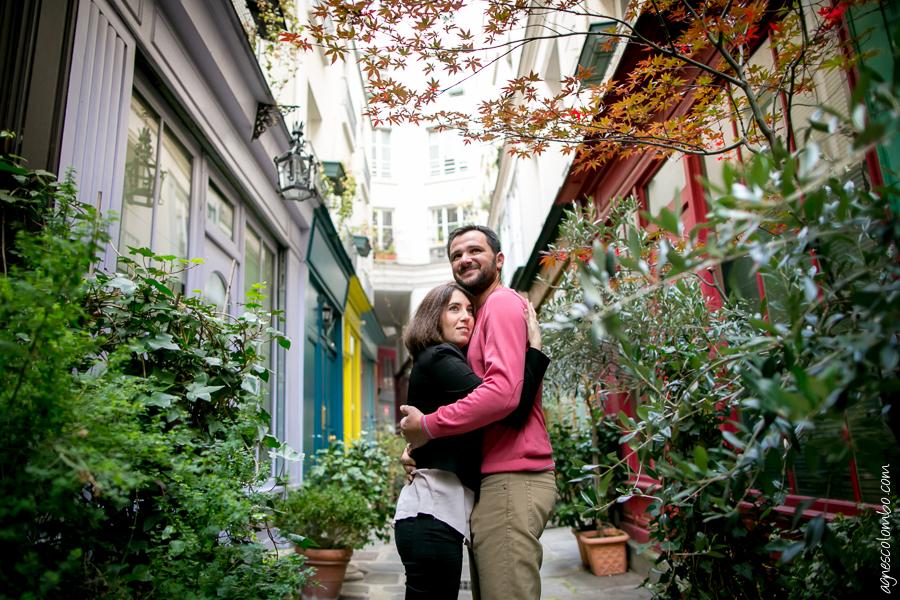 ©agnes colombo-couple passage paris-3