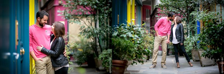 Photographe couple Paris insolite | Agnes Colombo, photographe couple Paris