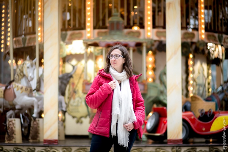 Portrait de femme Paris La Défense | Agnes Colombo, photographe portrait Paris