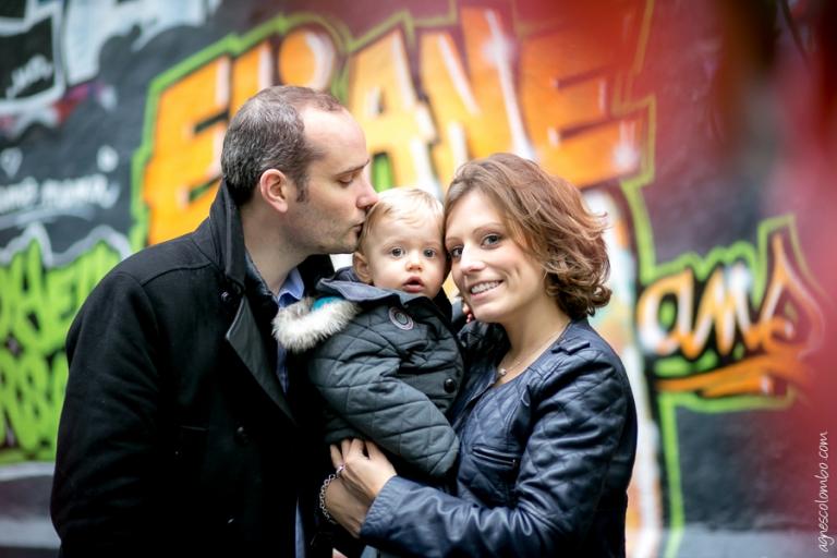 Anniversaire street art Paris | Agnes Colombo, photographe famille Paris