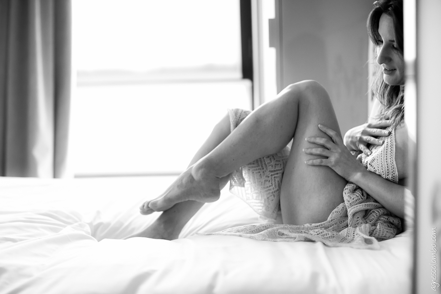 Boudoir portrait de femme Paris | Agnes Colombo, photographe portrait Paris
