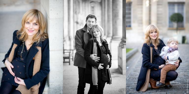 Photographe grossesse Marais Paris | Agnes Colombo, photographe maternité Paris