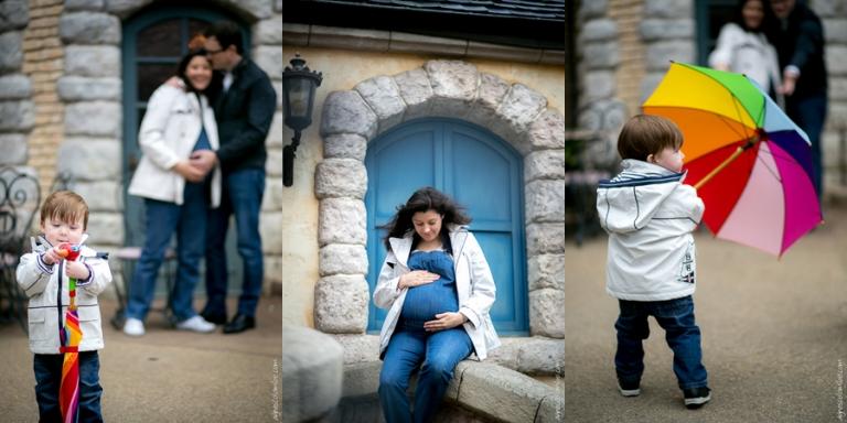 Séance grossesse à Eurodisney | Agnes Colombo, photographe maternité Paris