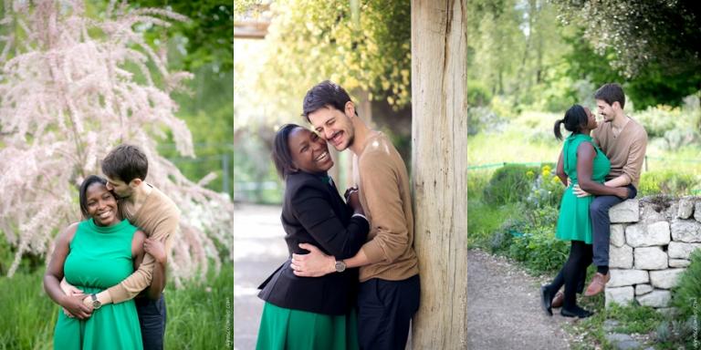 Séance engagement Issy-les-Moulineaux | Agnes Colombo, photographe couple Paris