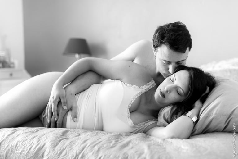 Photographe grossesse a domicile Chaville   Agnes Colombo, photographe grossesse Paris