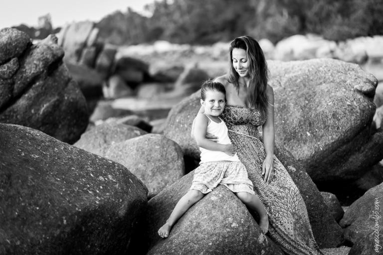 Photos de famille sur la plage | Agnes Colombo, photographe famille Paris