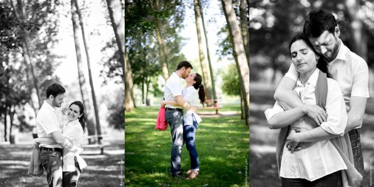 Séance engagement Yvelines | Agnes Colombo, photographe couple Paris