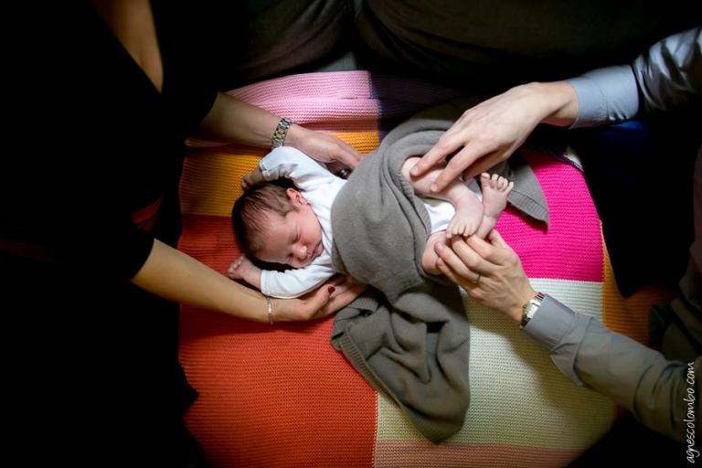 Séance bébé à domicile Paris 17 | Agnes Colombo