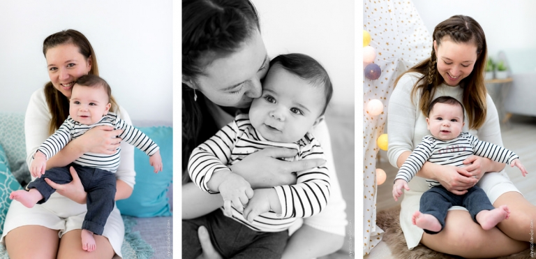 Photographe grand bebe studio Paris