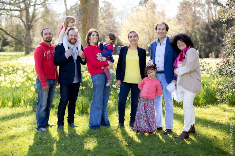 Seance famille nombreuse Bagatelle