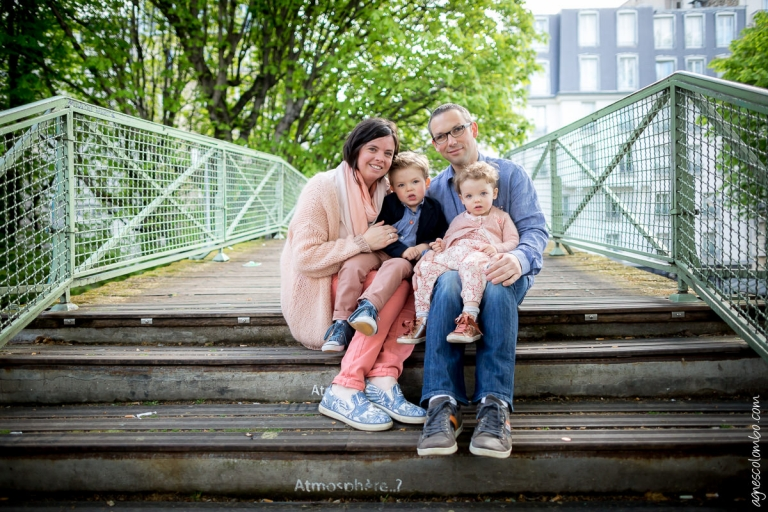 Seance famille Canal Saint Martin