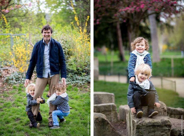 Photos de famille Parc Monceau
