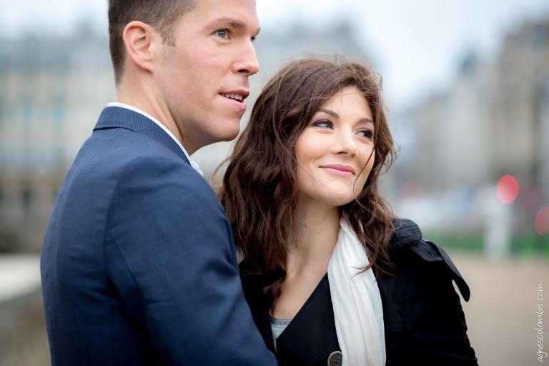 Seance engagement parisienne