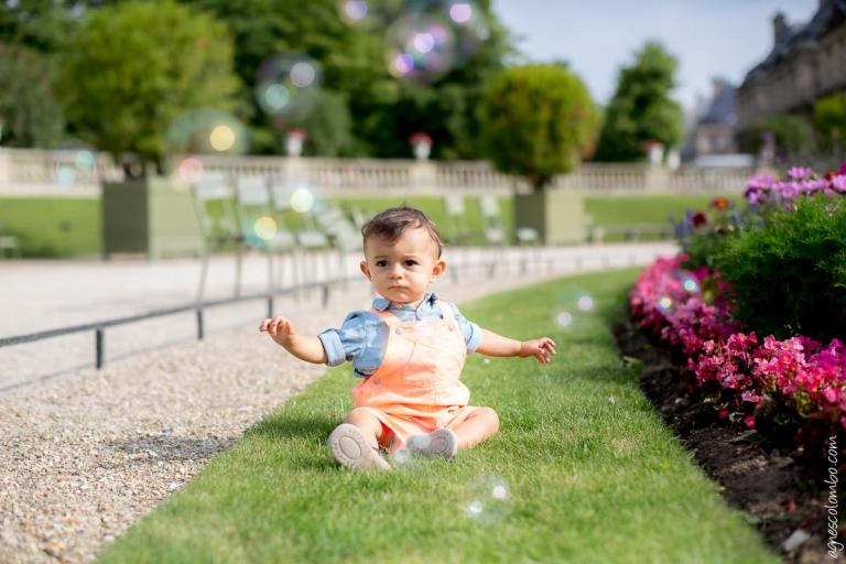 Seance famille Jardin du Luxembourg