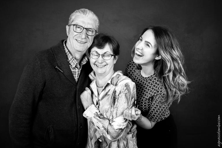 Portraits de famille studio Rueil