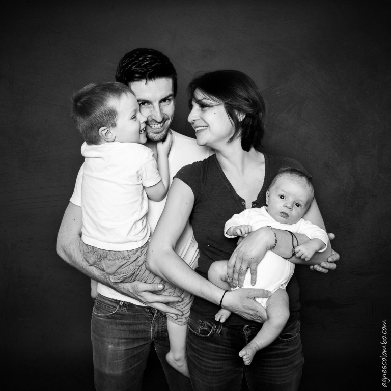 Photographe famille studio Saint-Cloud