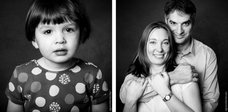 Portrait de famille Studio