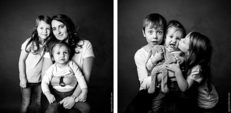 Photos de famille à 5