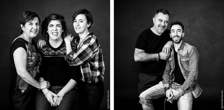 Grande famille au studio