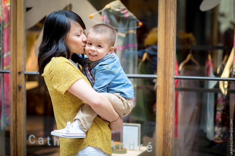 Photographe famille Galerie Vivienne Paris