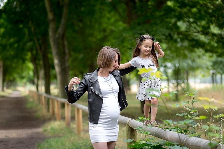 Photographe grossesse Bois de Boulogne
