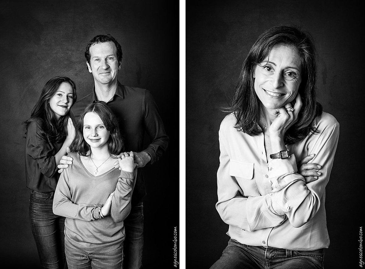 Portraits de famille Paris studio