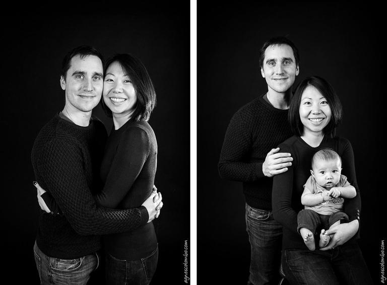 Portrait de famille luxe Studio Paris