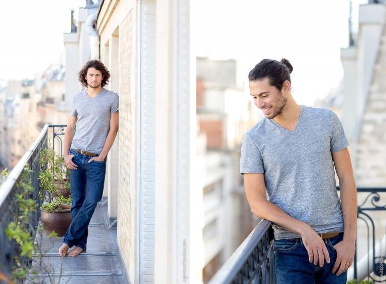 Portrait homme Paris