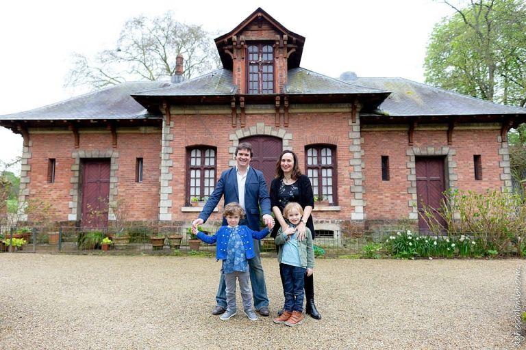 Photographe famille Puteaux Bagatelle