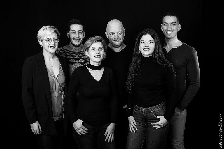 Seance famille Studio Suresnes